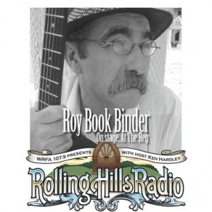 Roy Book Binder to Perform on Rolling Hills Radio Oct. 15