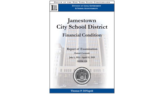 State Audit Finds Jamestown Schools Needs Improved Budgeting
