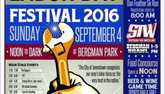 2016 Jamestown Labor Day Festival is Sunday, Sept. 4