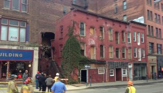 Emergency Demolition of Downtown Building Required Following Partial Collapse