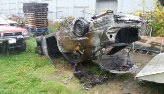 City Police Investigate Friday Morning Theft and Arson of Vehicle