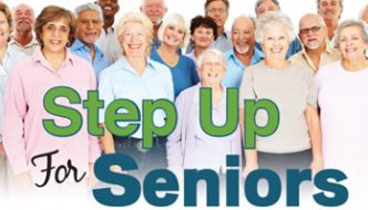 Office for the Aging Announces 'Step Up for Seniors' Initiative to Raise Awareness about State Budget Cuts